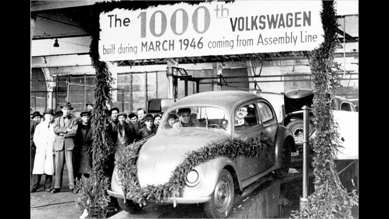 Der tausendste Volkswagen (1946)
