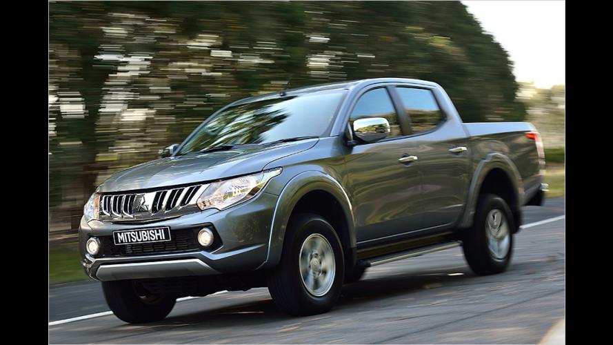 Mitsubishi: L200 neu aufgelegt