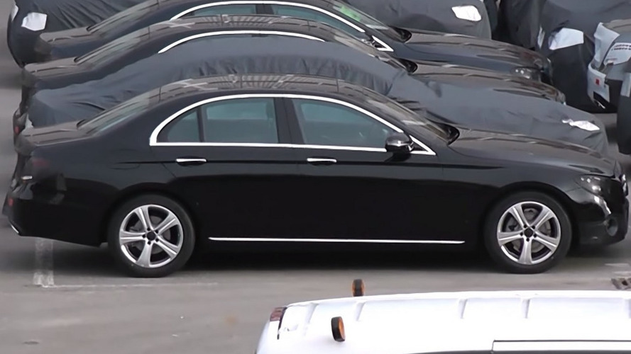100 prototypes of 2016 Mercedes-Benz E-Class filmed, some are almost undisguised