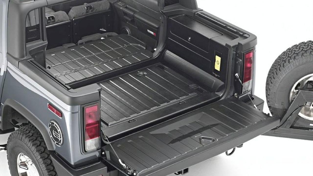 HUMMER H2 SUT cargo bed