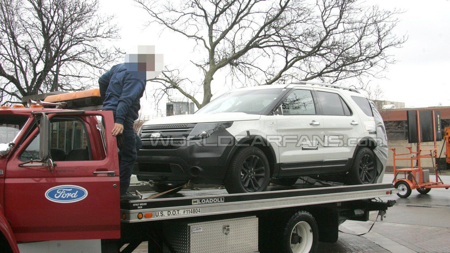 Next Generation Ford Explorer Spied Uncovered
