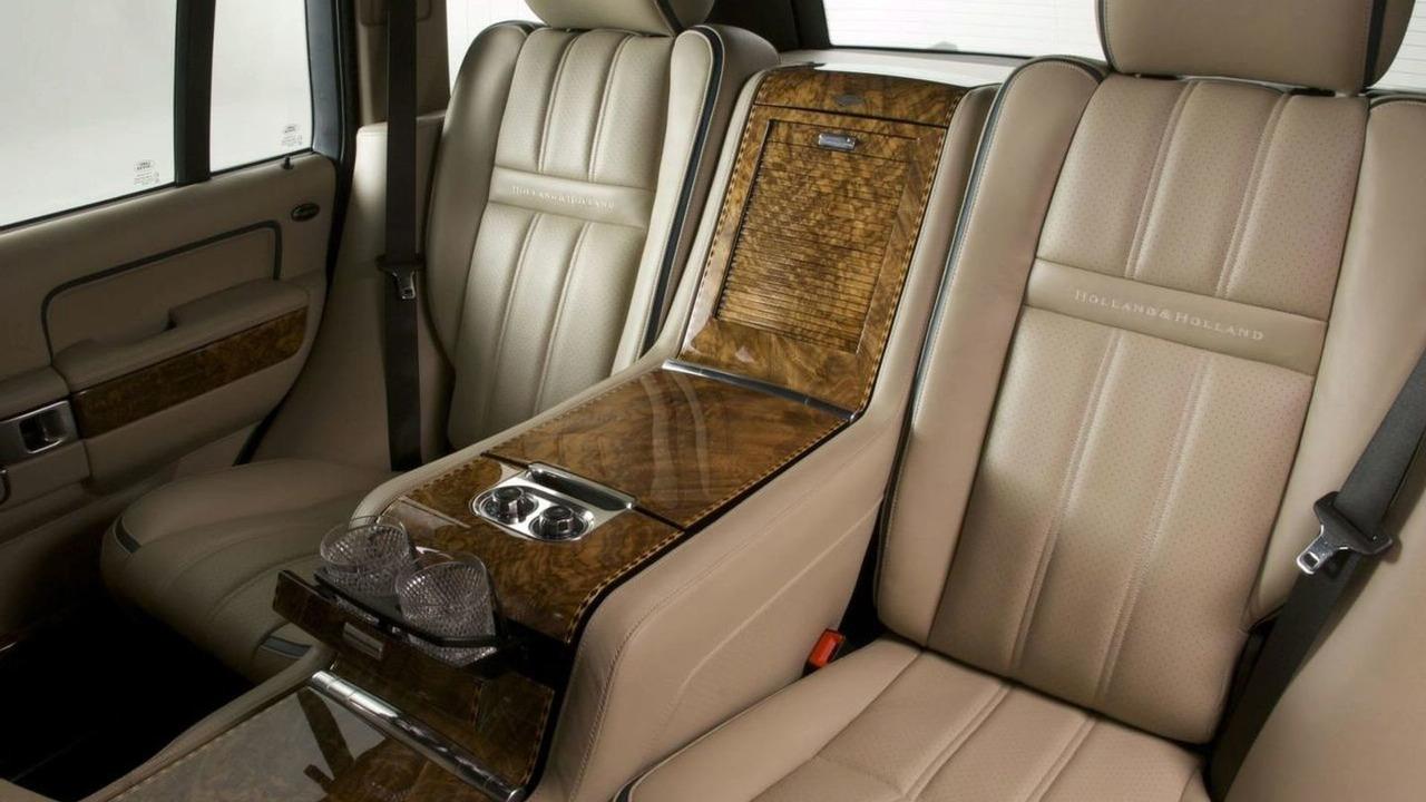 overfinch reveals holland holland range rover. Black Bedroom Furniture Sets. Home Design Ideas