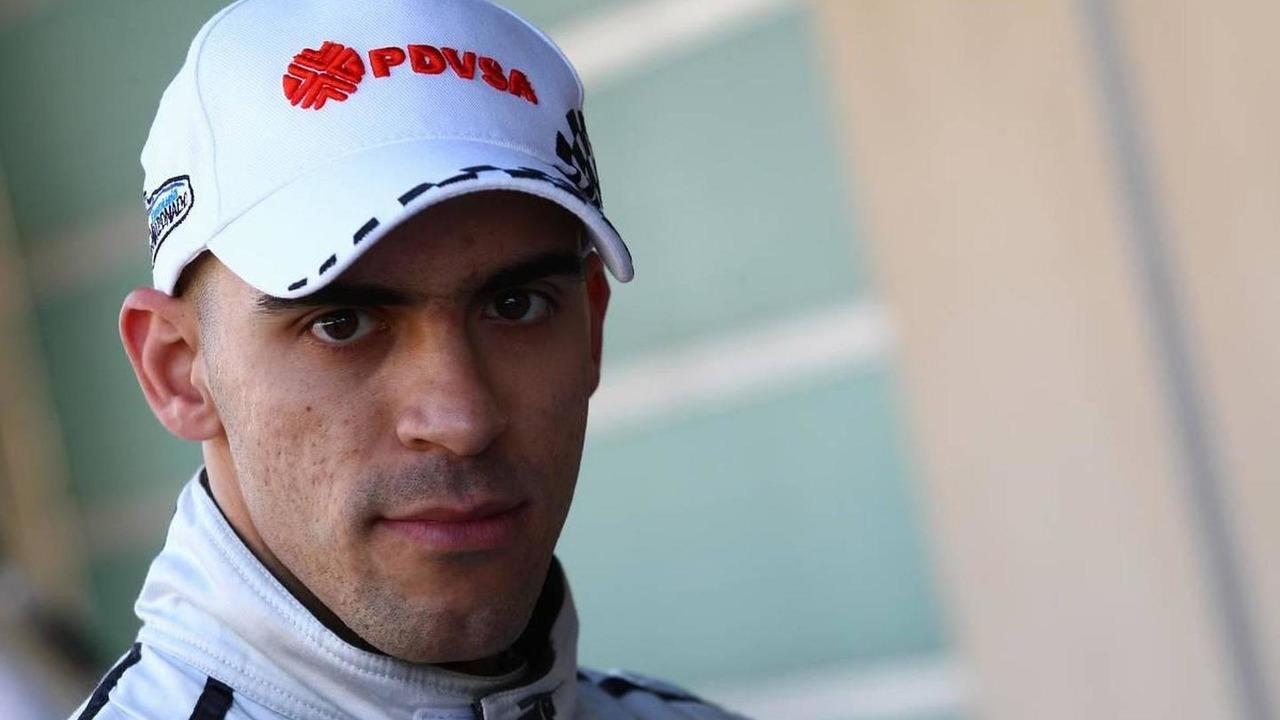 Pastor Maldonado (VEN), Hispania Racing F1 Team, HRT - Formula 1 Testing, Pirelli tyre test, 20.11.2010 Abu Dhabi