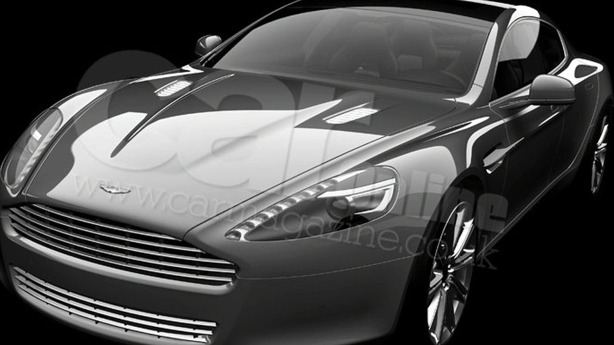 First Official Aston Martin Rapide Image Surfaces