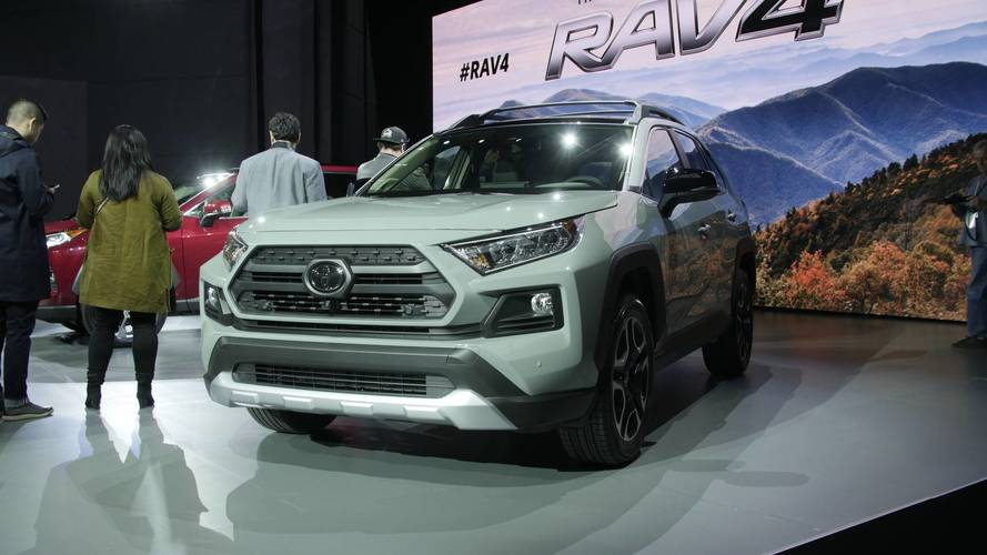 Watch Toyota Reveal The All-New RAV4 In New York