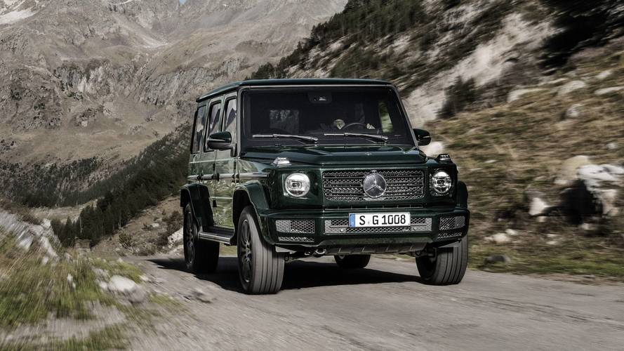 Mercedes G-Class will get a diesel option in December