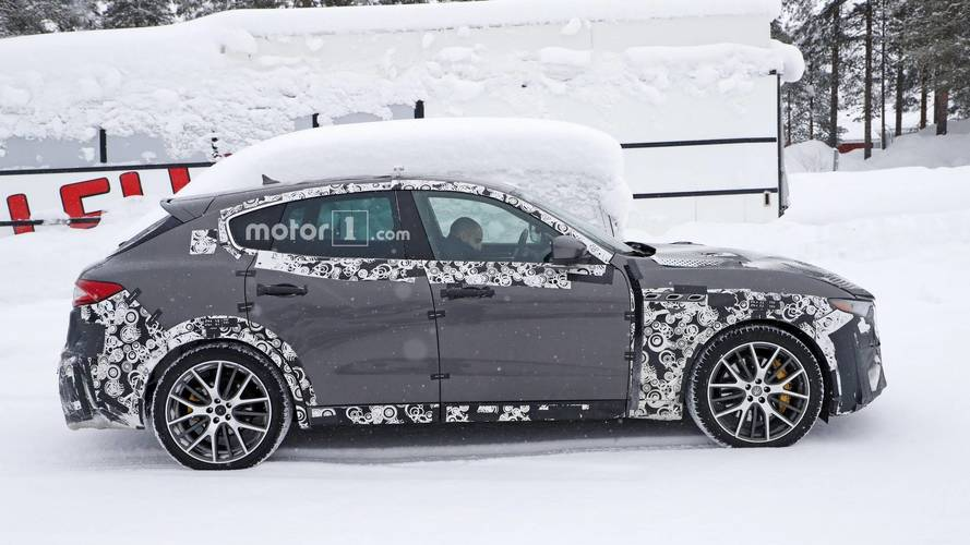 2019 Maserati Levante GTS new spy photos