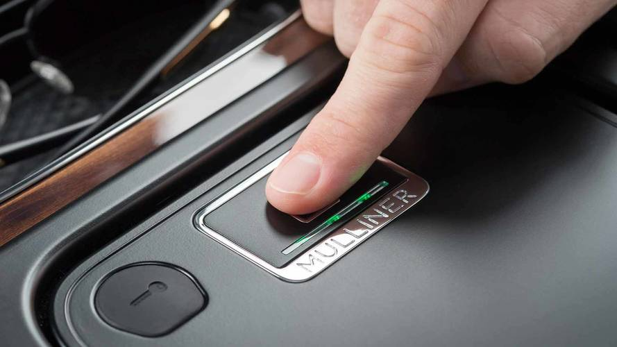 Bentley Bentayga e il caveau a impronte digitali