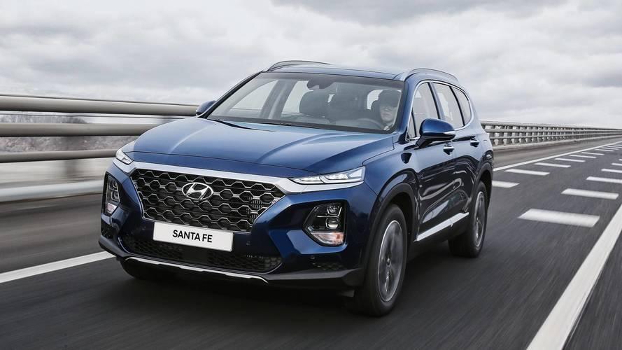 2019 Hyundai Santa Fe hivatalos bemutató