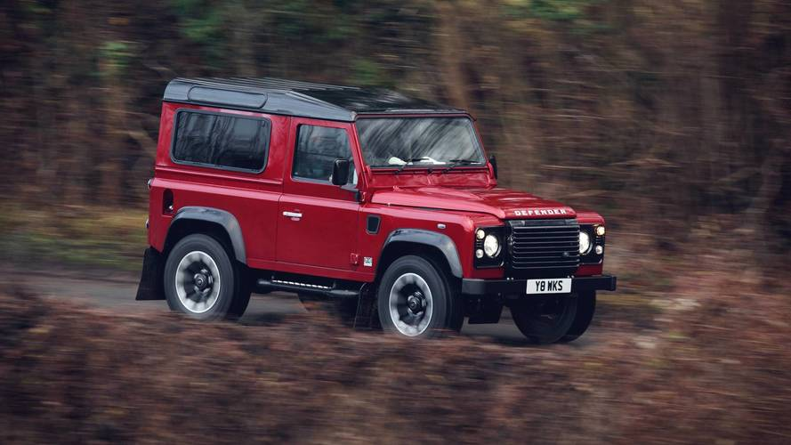 Un Land Rover Defender V8, para celebrar el 70 aniversario de la marca