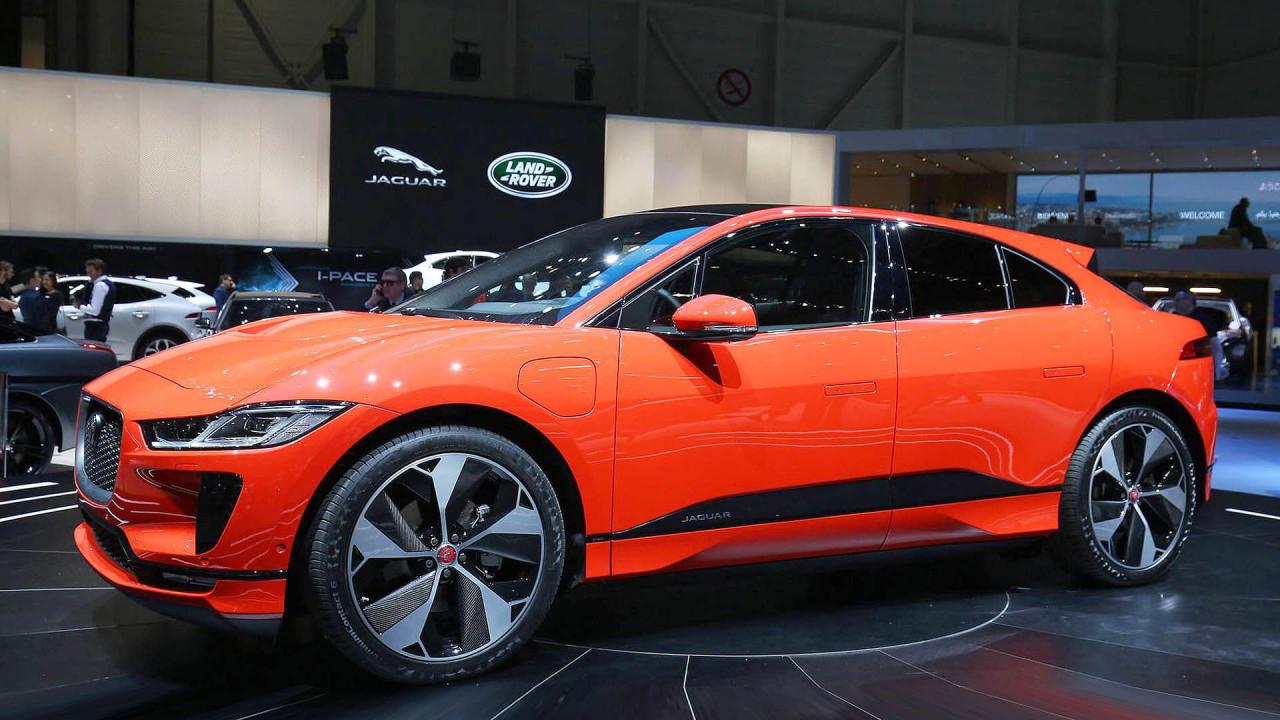 Top (Stefan Leichsenring): Jaguar I-Pace