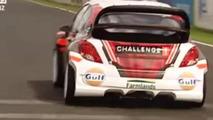 Custom rally car