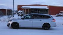 2014 Peugeot 308 SW GTI spy photo