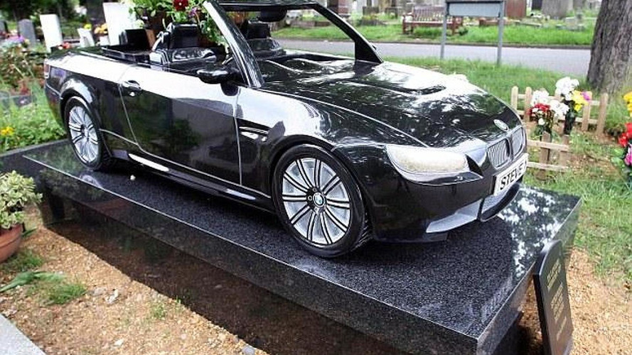 Devoted BMW fan all the way to the grave