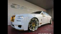 Rolls-Royce Wraith, pioggia d'oro per quella di Office-K