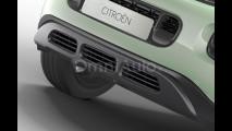 Citroen C3 Aircross, il rendering