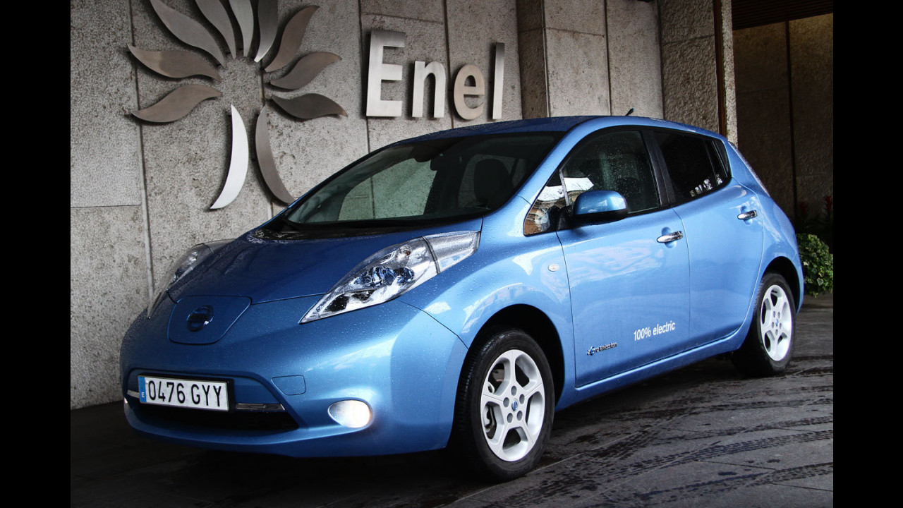 Andrea Zara, Responsabile E-mobility Enel - Nissan Leaf