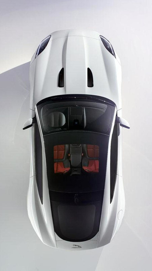 2014 Jaguar F-Type Coupe teased, debuts on November 19th