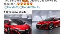 "Fernando Alonso says he 'will be together"" with the Acura NSX"