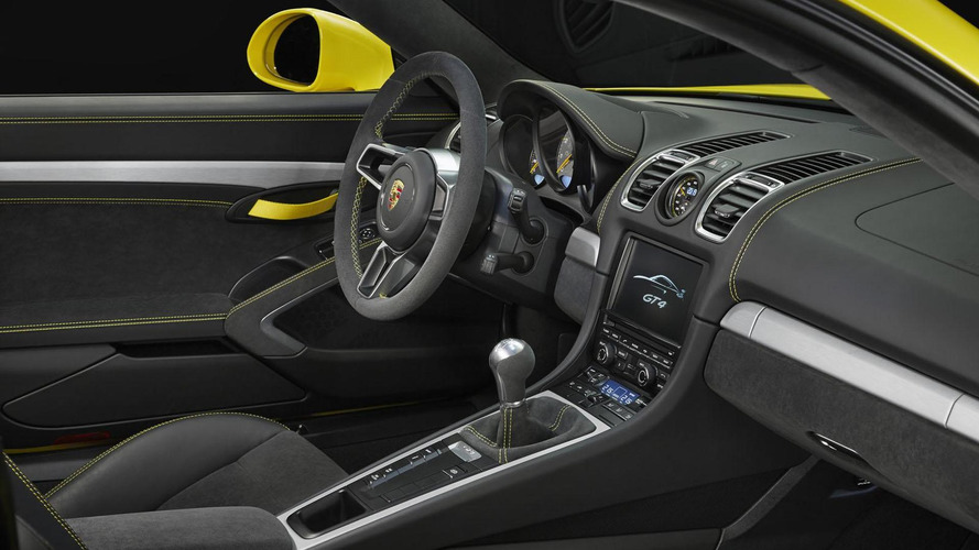 Porsche Cayman GT4 officially unveiled with 385 PS [video]