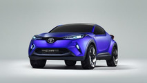 Toyota C-HR concept official images leaked