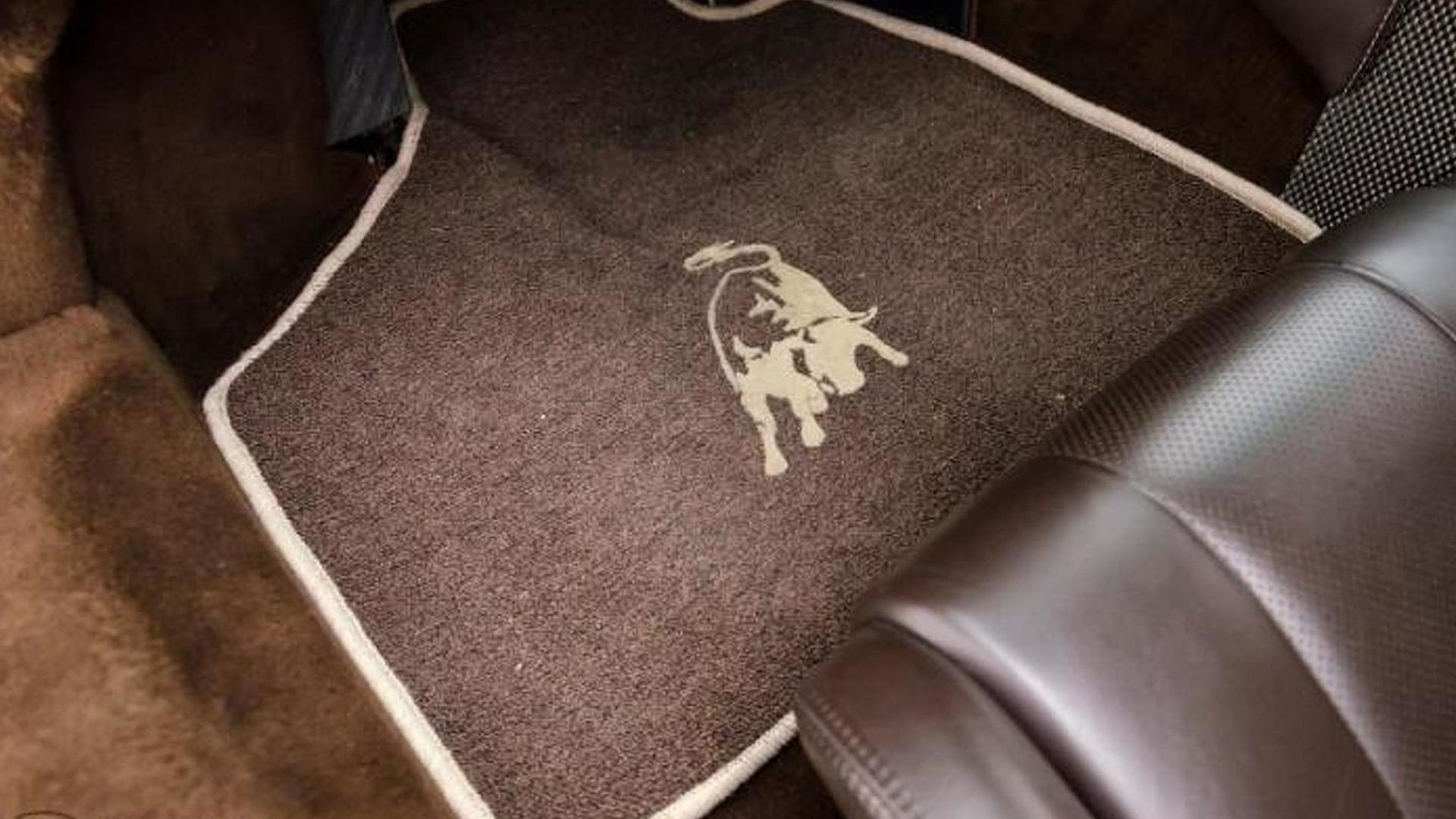 Оригинальные коврики Lamborghini Diablo 6.0 SE