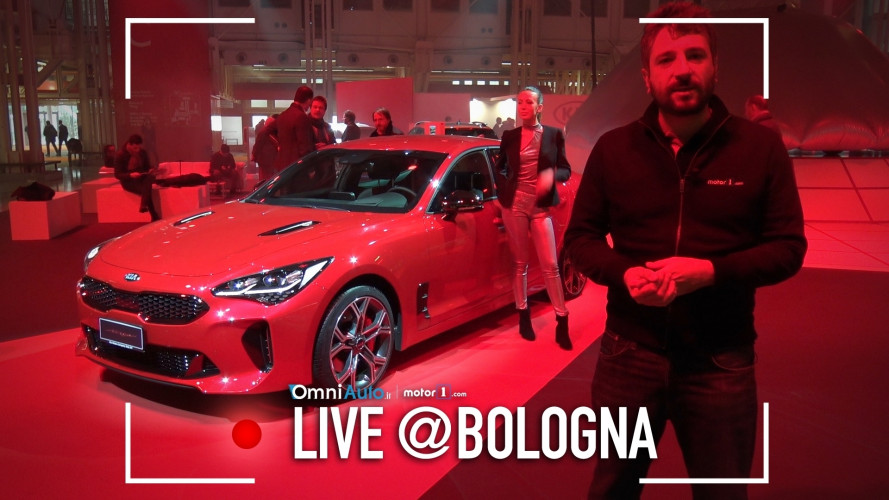 Kia al Motor Show 2017 fra sportività e praticità