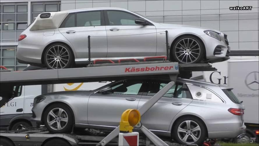Garip Mercedes-Benz GLS ve E-Serisi prototipleri