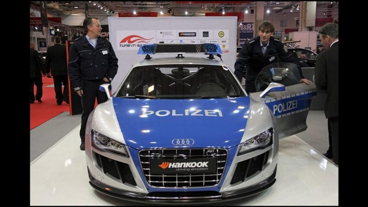 Polícia alemã bem aparelhada: Audi R8 V10 GTR by Abt