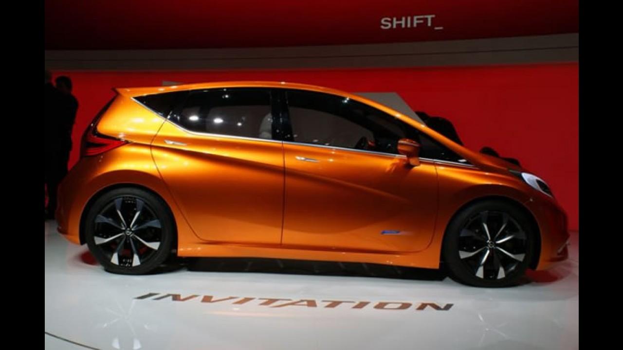 Salão de Genebra: Nissan Invitation Concept -  Foco é enfrentar compactos premium