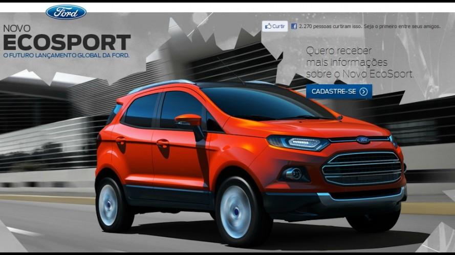 Ford cria site para divulgar novo EcoSport no Brasil