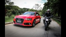 Teste CARPLACE: Audi RS6 e Ducati Streetfighter 848 - dinheiro traz velocidade