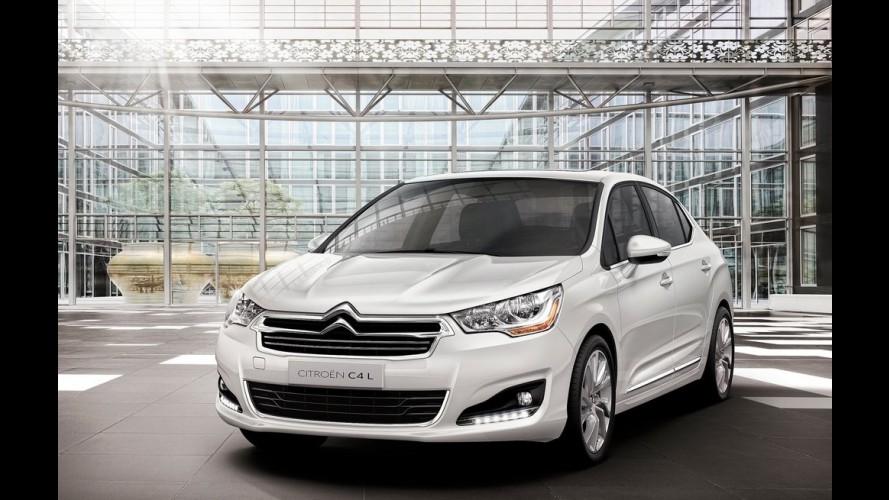 Citroën C4 L, sucessor do Pallas, começa a ser feito na Argentina
