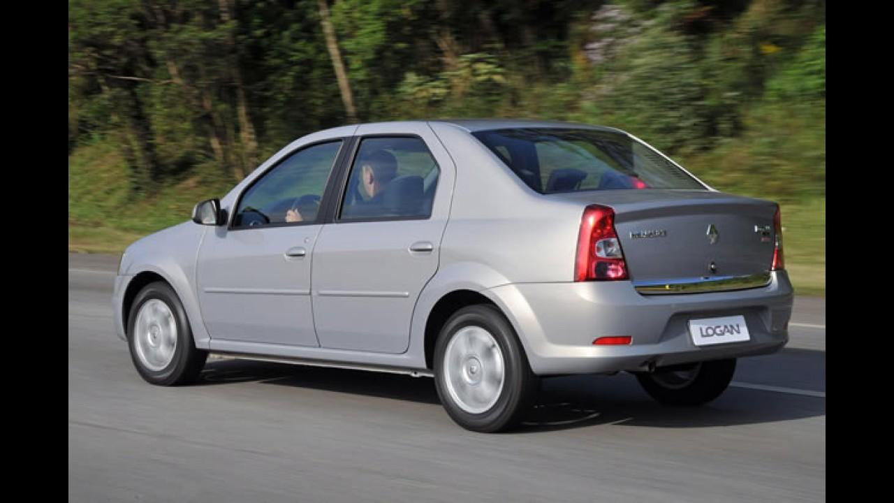 """Renault lança o """"Novo Logan"""" - Sedan ganha mudanças no visual e melhorias no acabamento"""