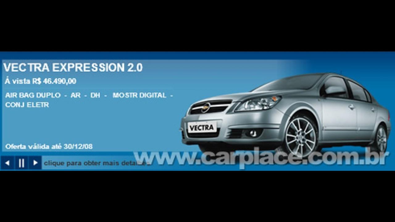 Vectra reestilizado terá motor 2.0 de 140 cv - Modelo atual custa R$ 46.490