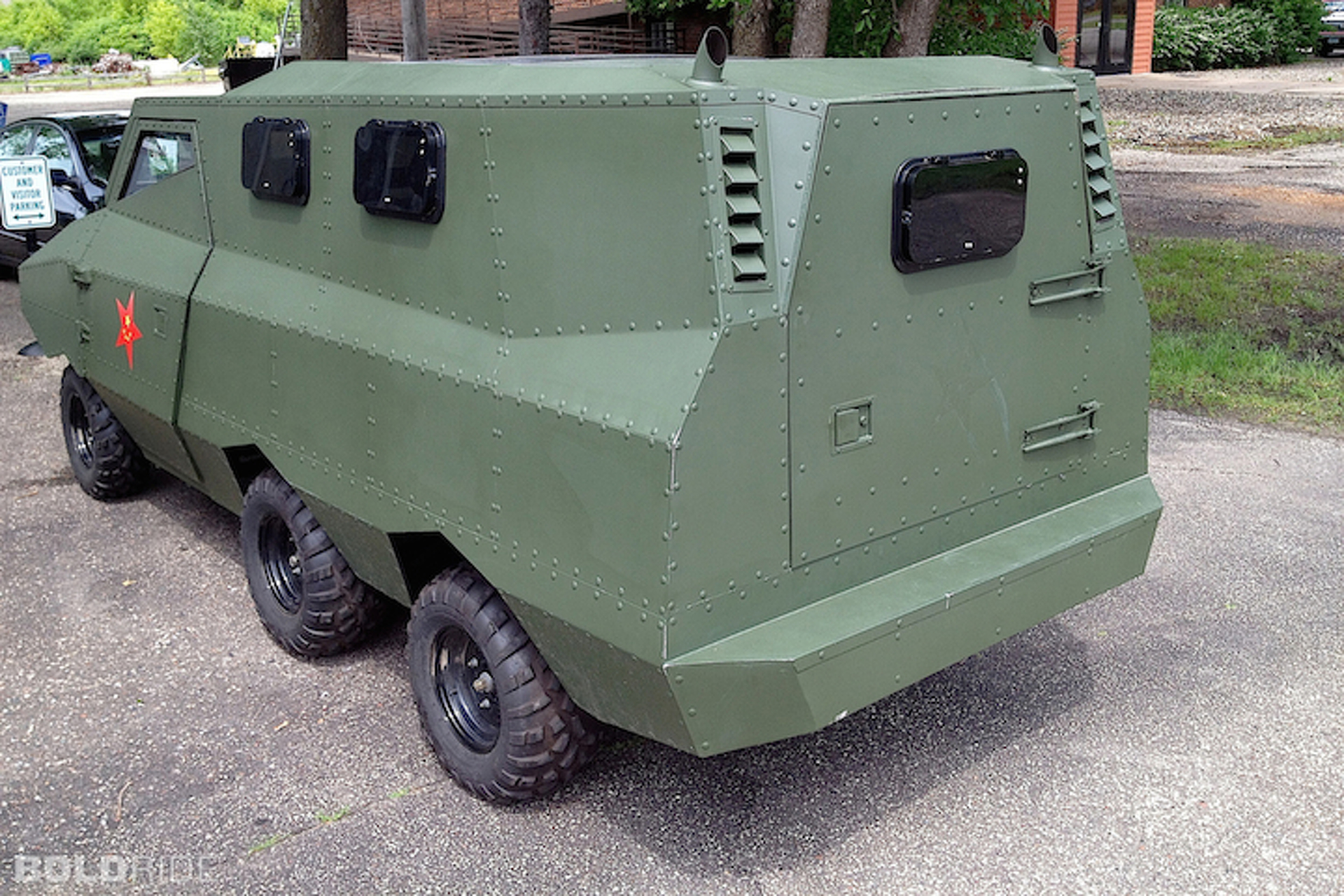 """Strange, Unused Chinese Gov't """"Armored Car"""" For Sale in the U.S."""