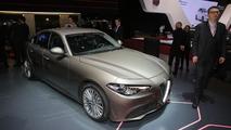 Complete Alfa Romeo Giulia range detailed in Geneva