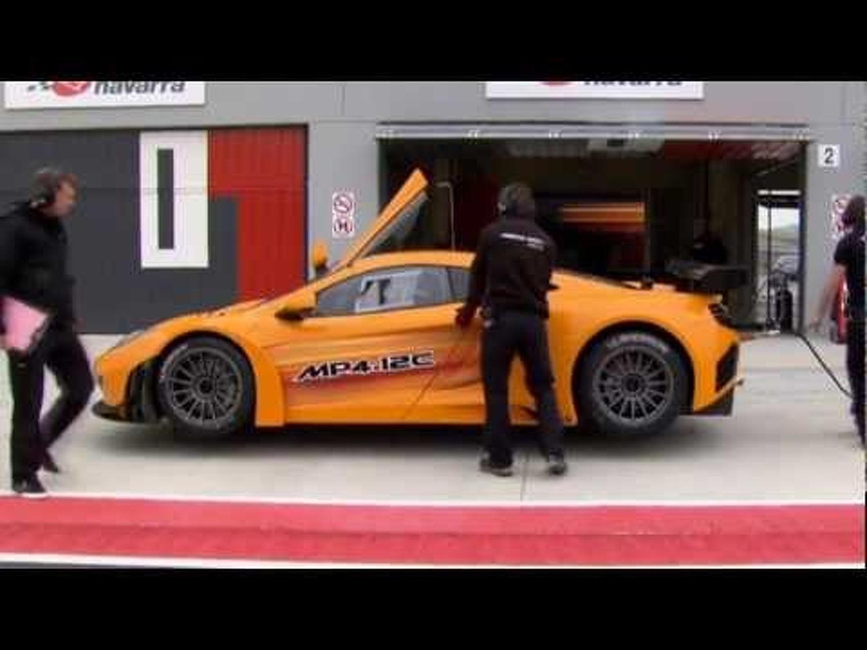 McLaren MP4-12C GT3 Dynamic