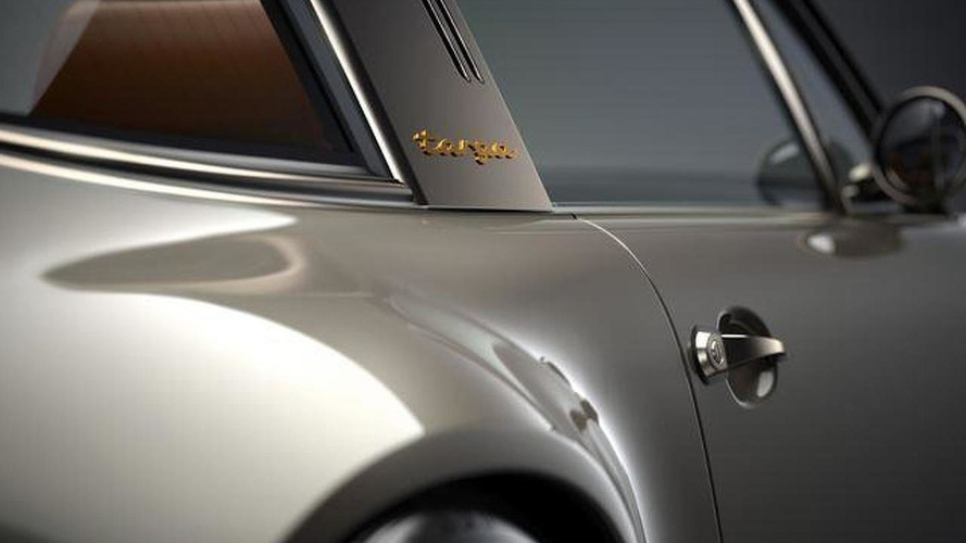 Porsche 911 Targa by Singer teased ahead of Goodwood FoS reveal
