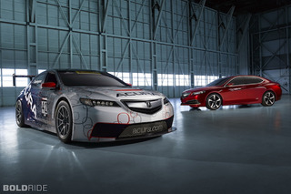 Acura Tries to Save Itself from Boring with the TLX GT Racer