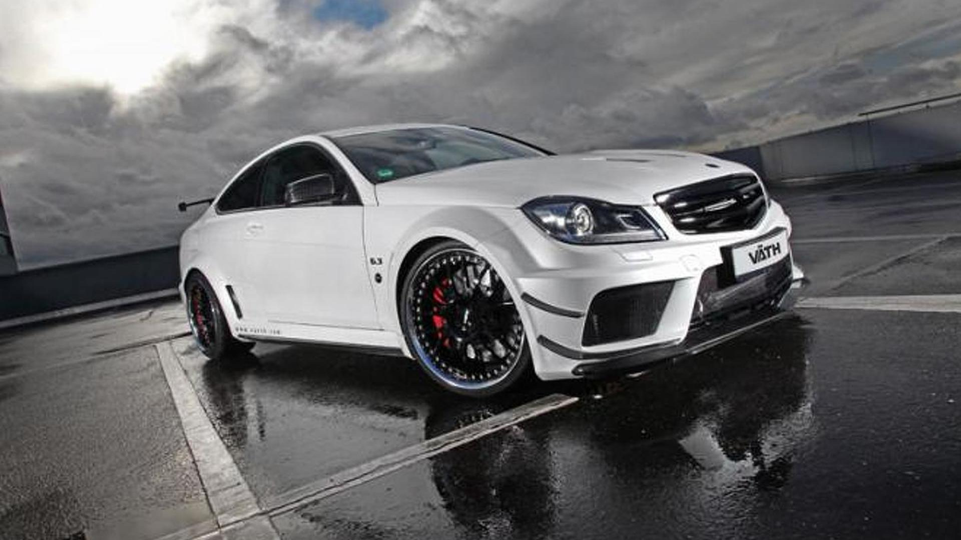 vth upgrades mercedes benz c63 amg coupe black series to 756 hp