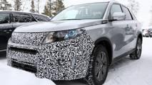 Suzuki Vitara facelift spy photo