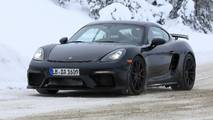 2019 Porsche Cayman GT4 spy photos