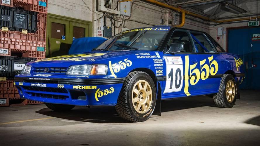 Enchères - Une Subaru Legacy RS Groupe A est à vendre