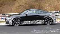Audi TT RS restyling fotos espía