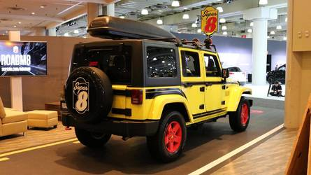 Super 8 Has A Custom Jeep In NY That Makes Ronald McDonald Jealous