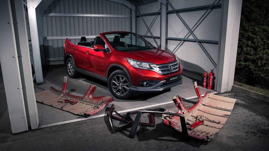 Honda dévoile le CR-V Roadster, vivement l'été !