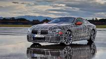 BMW 8 Series Official Teaser Photos