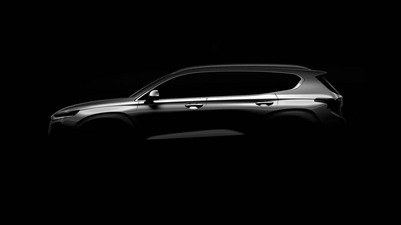Hyundai Santa Fe 2018 teaser