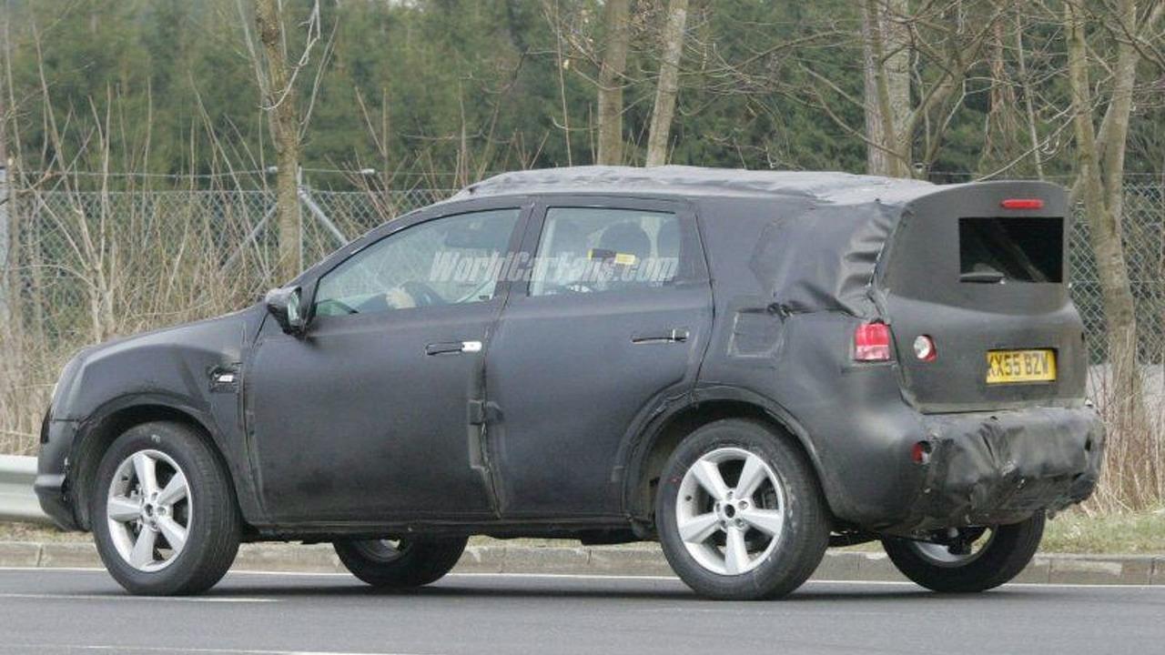 Nissan Qashqai Concept Spy Photo